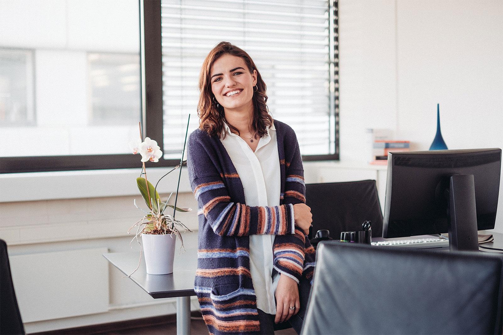 Praktikantentalk – Sarah Wenk im Interview
