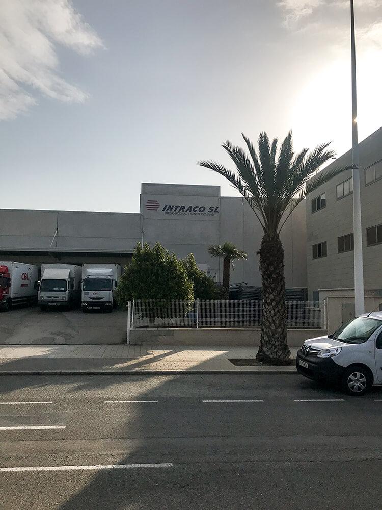 Das Büro der Scan-Thor Group Spain S.L.