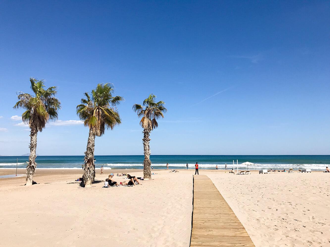 Strand Playa San Juan in Alicante