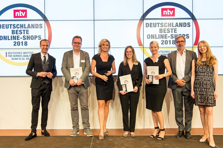 Silber für heine.de – Auszeichnung beim Deutschen Online-Shop Preis 2018
