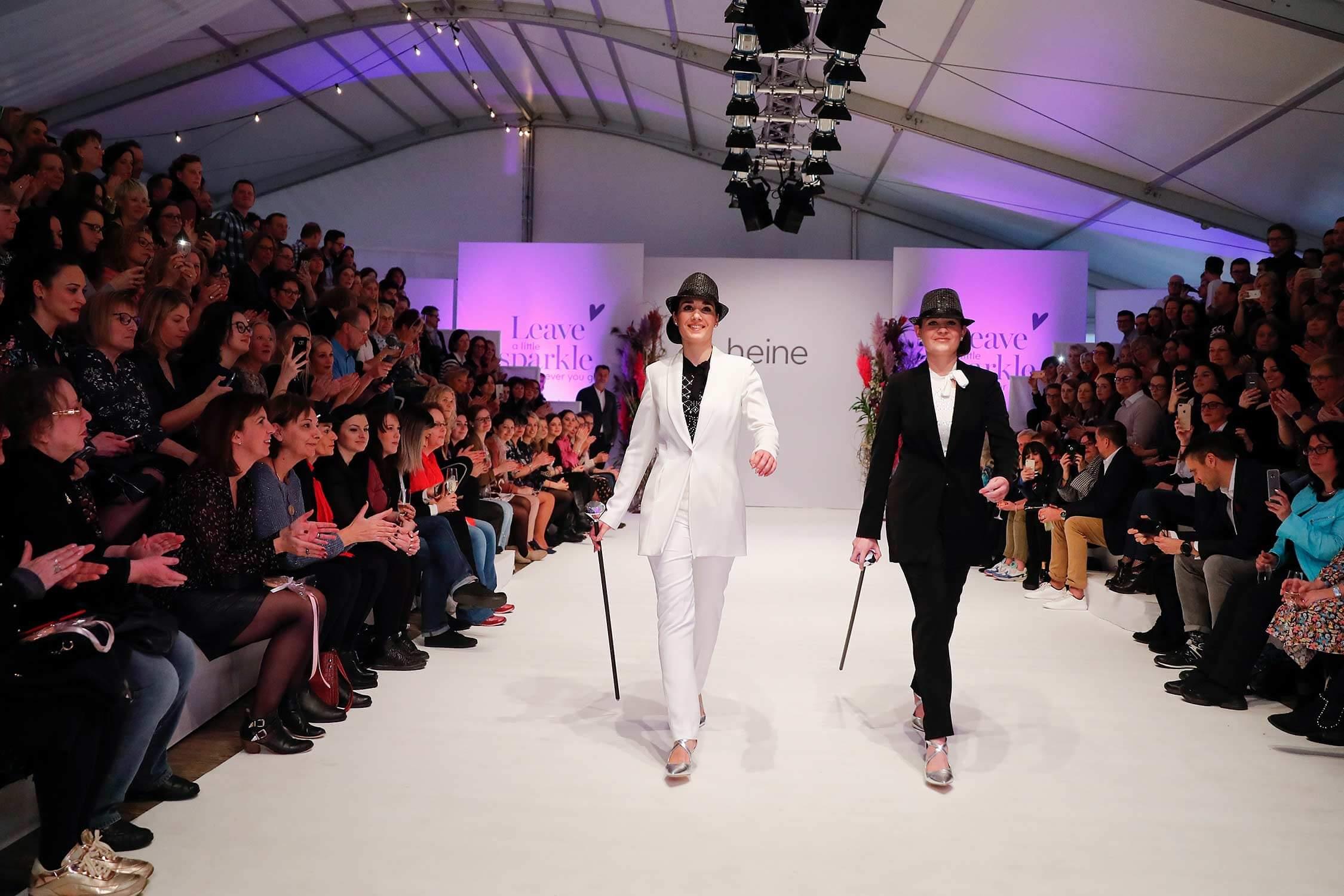 Eröffnungswalk des Fashion-Show
