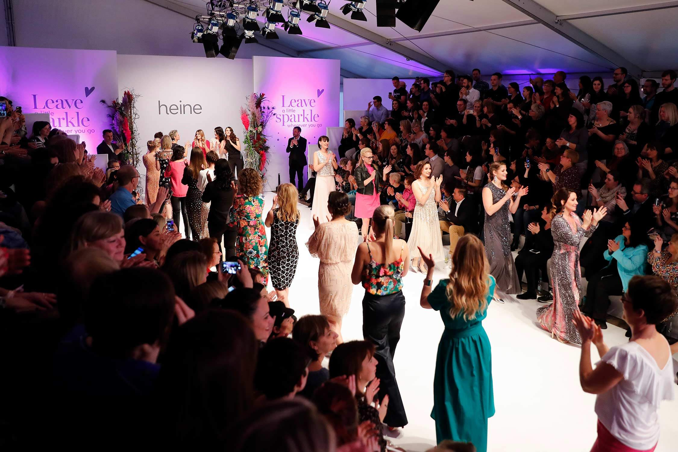 heine Fashion-Show