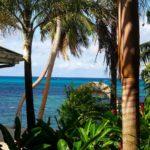 Blick aus dem Zimmer Hotel Coco de Mer, Praslin