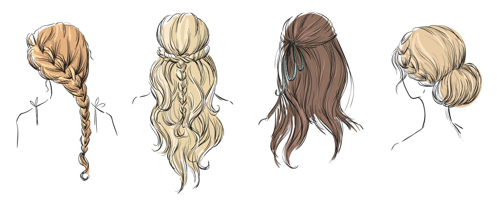 Vier einfache Frisuren für das Oktoberfest  Styles & Stories