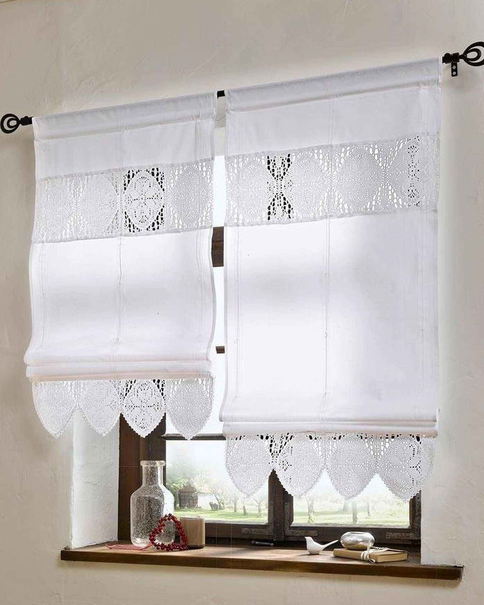 Fantastisch Fensterdekoration Gardinen Beispiele Bestand An Wohndesign Dekor