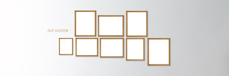 Bildergalerien - Auf Kante gehängt