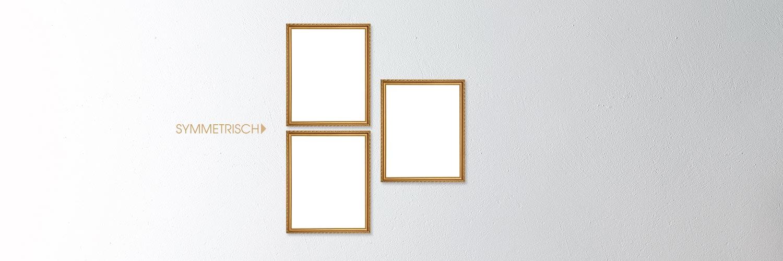 Bildergalerien - Symmetrische Hängung