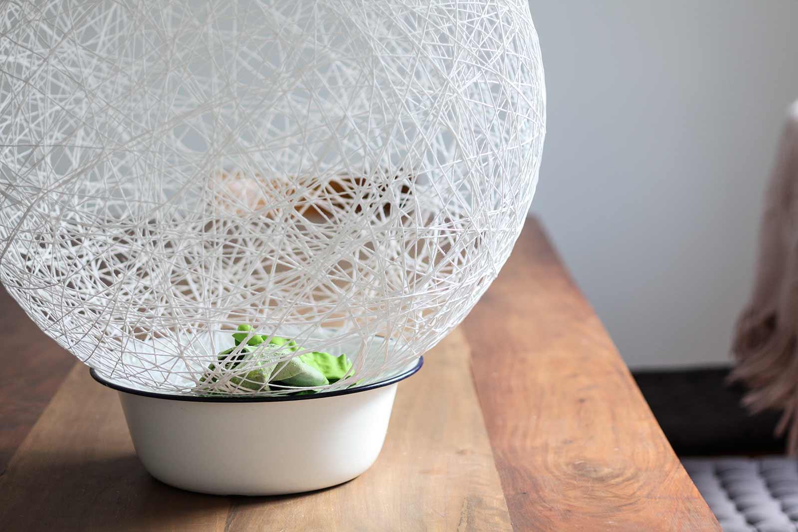 DIY - Hängelampe | Ohne Ballon