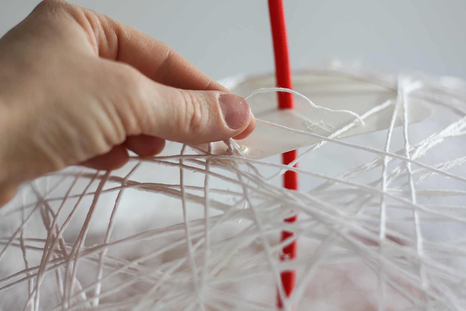 DIY - Hängelampe | Kabel einfügen
