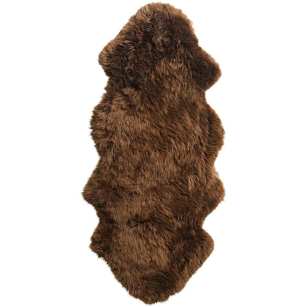 Lammfell mit flauschigem Fell