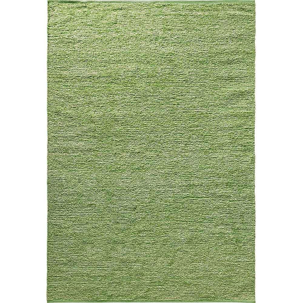 Handwebteppich aus pflegeleichter Polyester mit Baumwolle