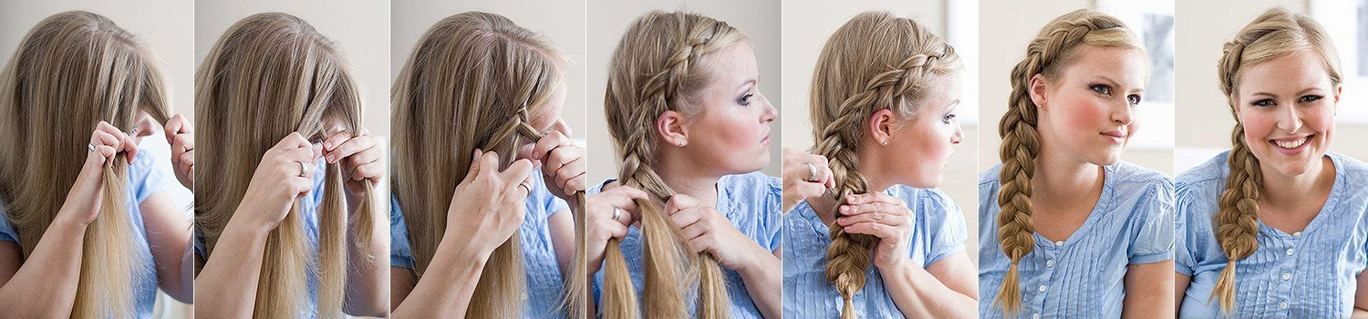 Dutch Braid flechten