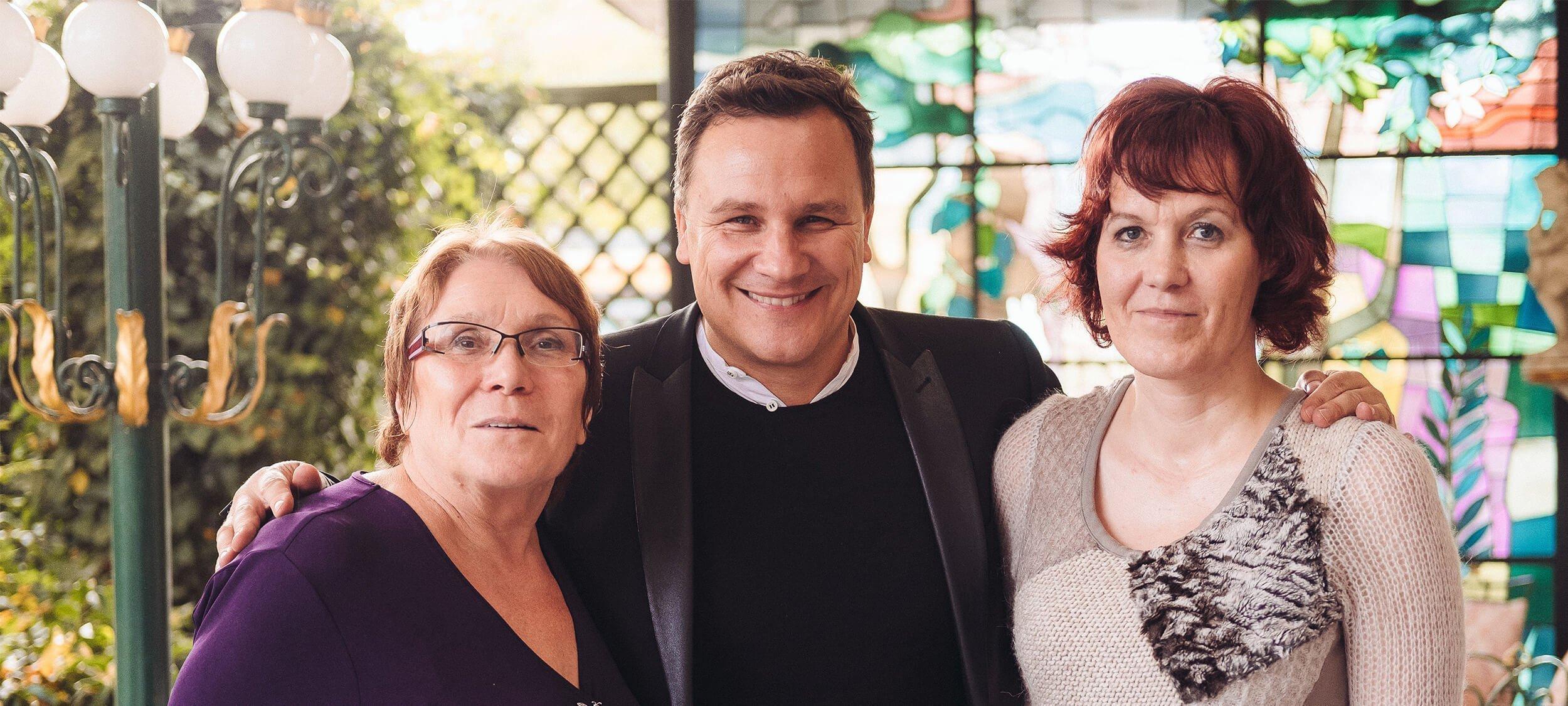 Claudia und Erika treffen Guido Maria Kretschmer