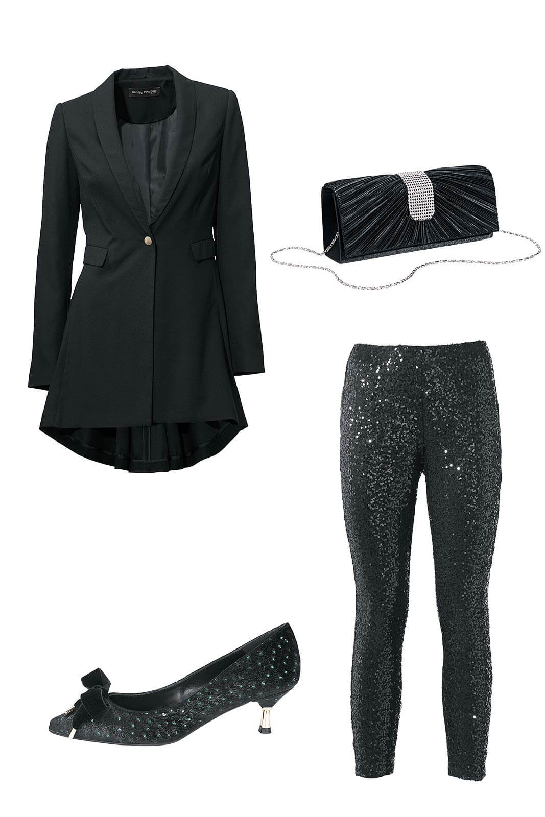 Outfit_silvester_dezent_figurumspielend_Collage
