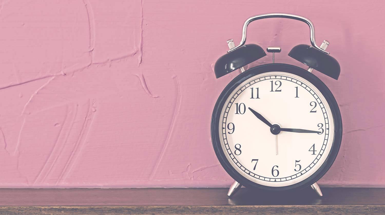 Eine gute Organisation benötigt Zeit - nimm sie dir!