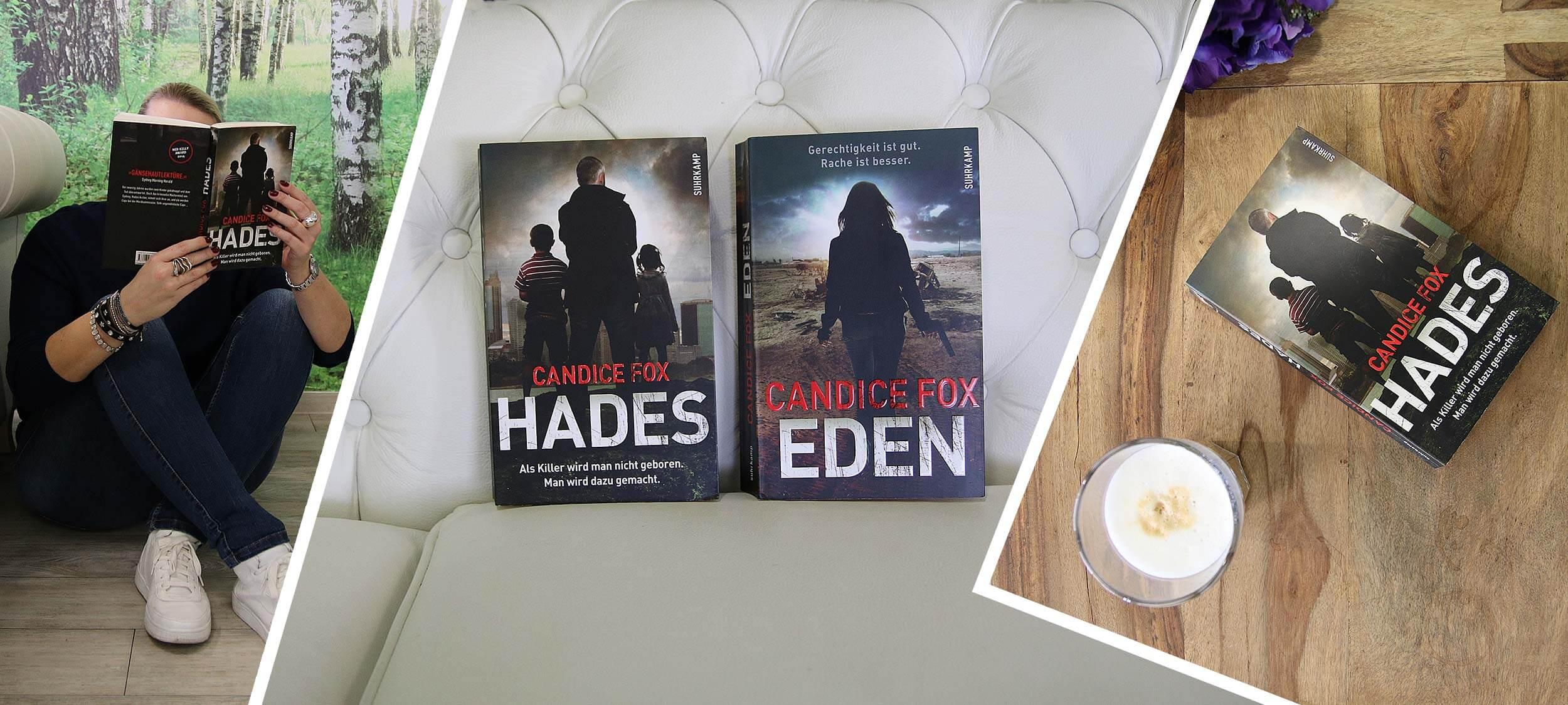 """Buchtipp des Monats März: """"Hades"""" und """"Eden"""" von Candice Fox"""