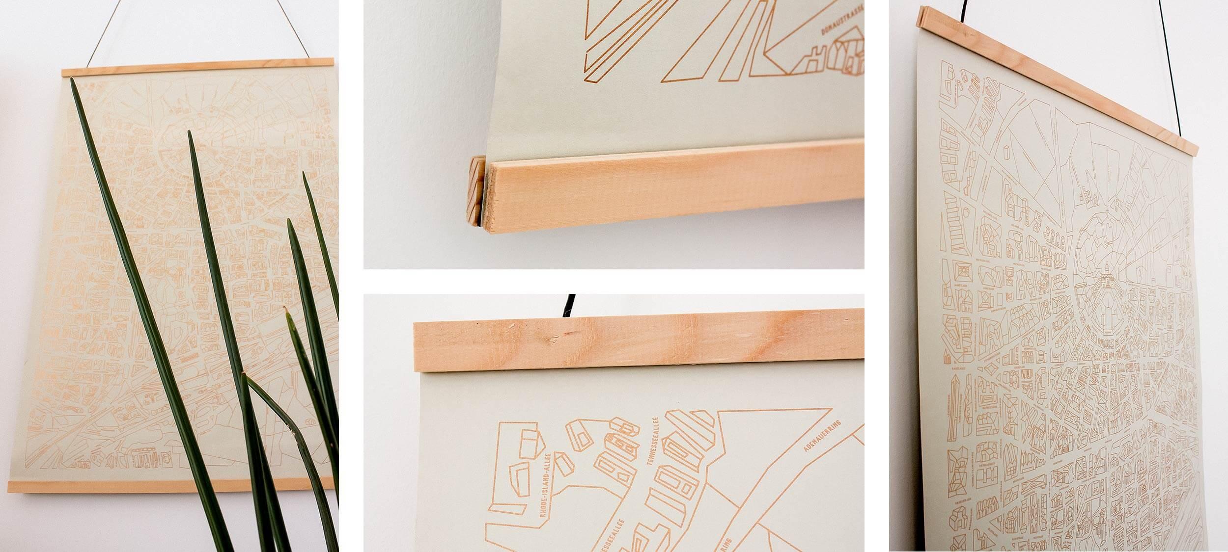 DIY – Posterleisten: Ganz einfach selbst gemacht!