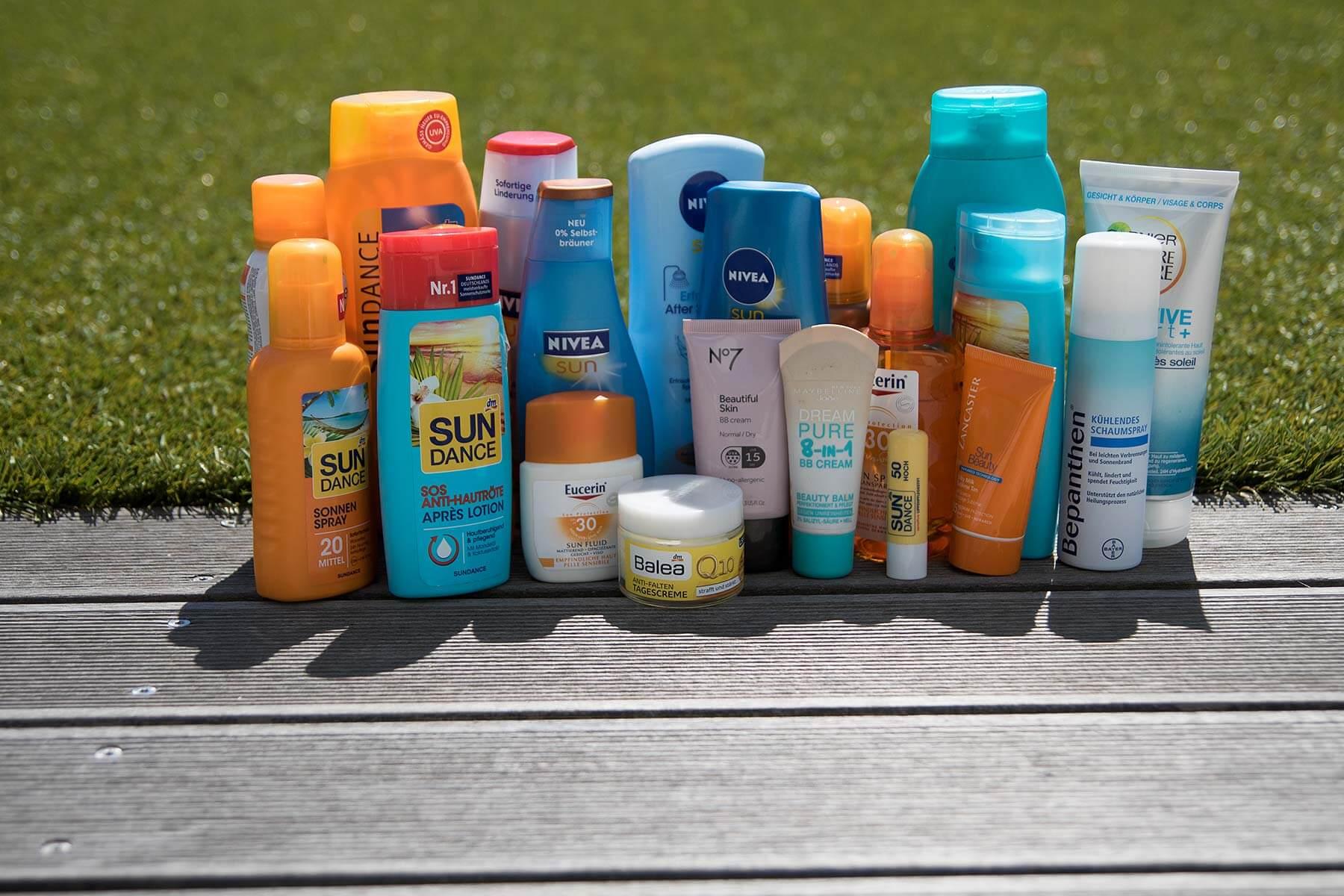 Sonnenschutz - Die Qual der Wahl…