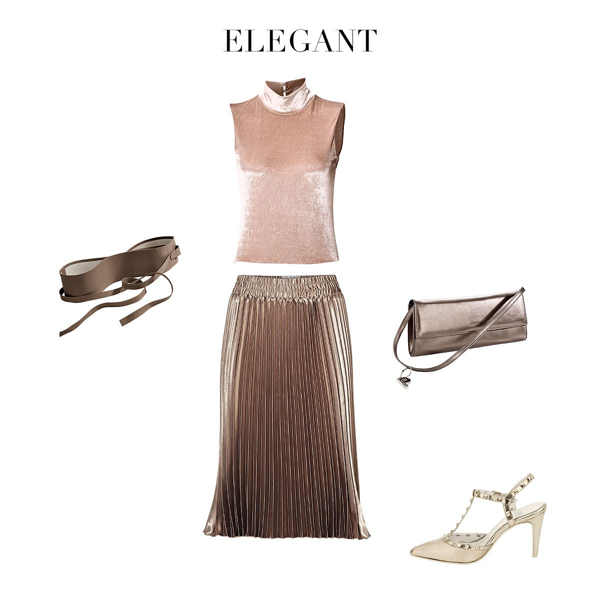 Plissee-Rock_elegant_outfit_august_kollage_4