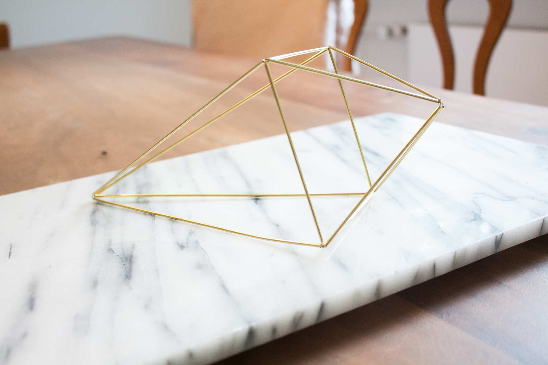 Diy Geometrische Deko Himmeli Aus Messing Styles Stories