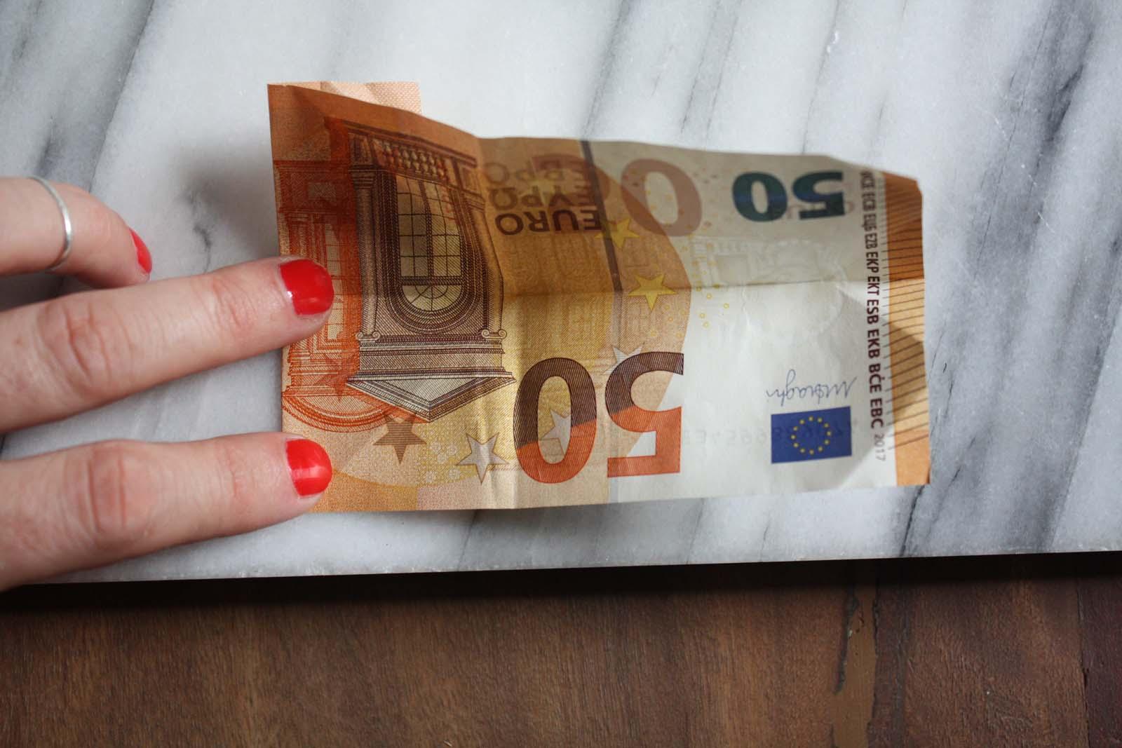Geldschein falten: Geldhemd