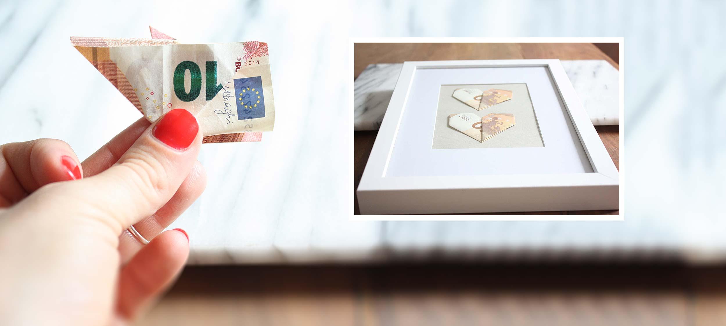 DIY – Geldgeschenke: Geldscheine originell falten