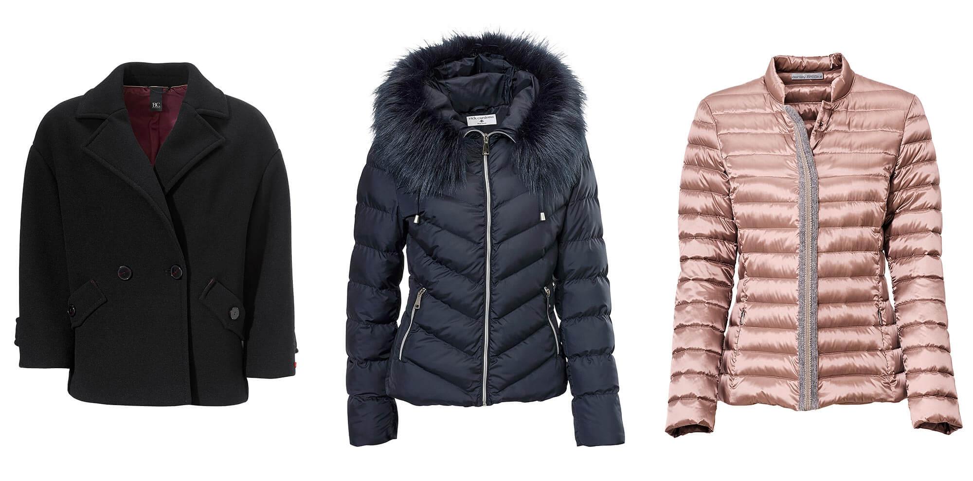 Inspiration Winterjacken für kleine Frauen