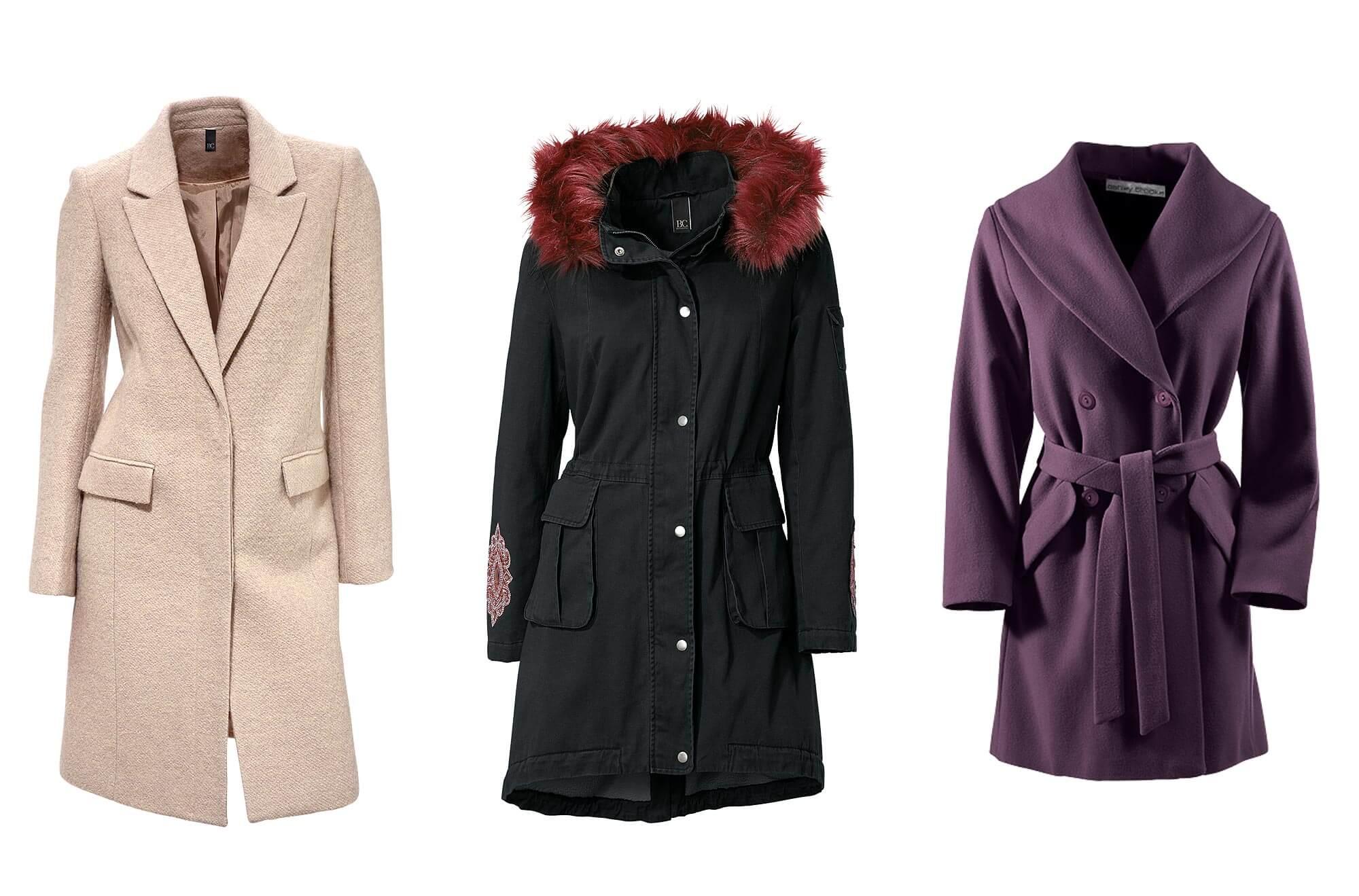 Mäntel und Jacken für kurvige Frauen.