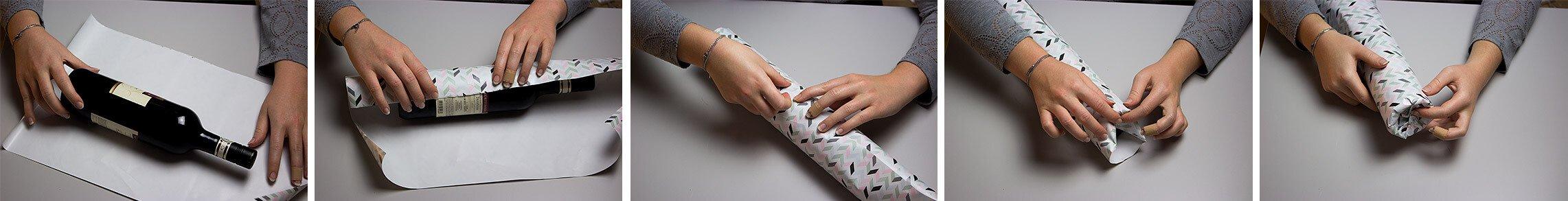 Beliebt Geschenke richtig verpacken - rund, quadratisch und flaschenförmig UT58