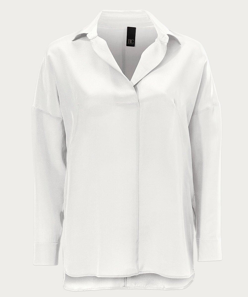 Basic - weiße Bluse