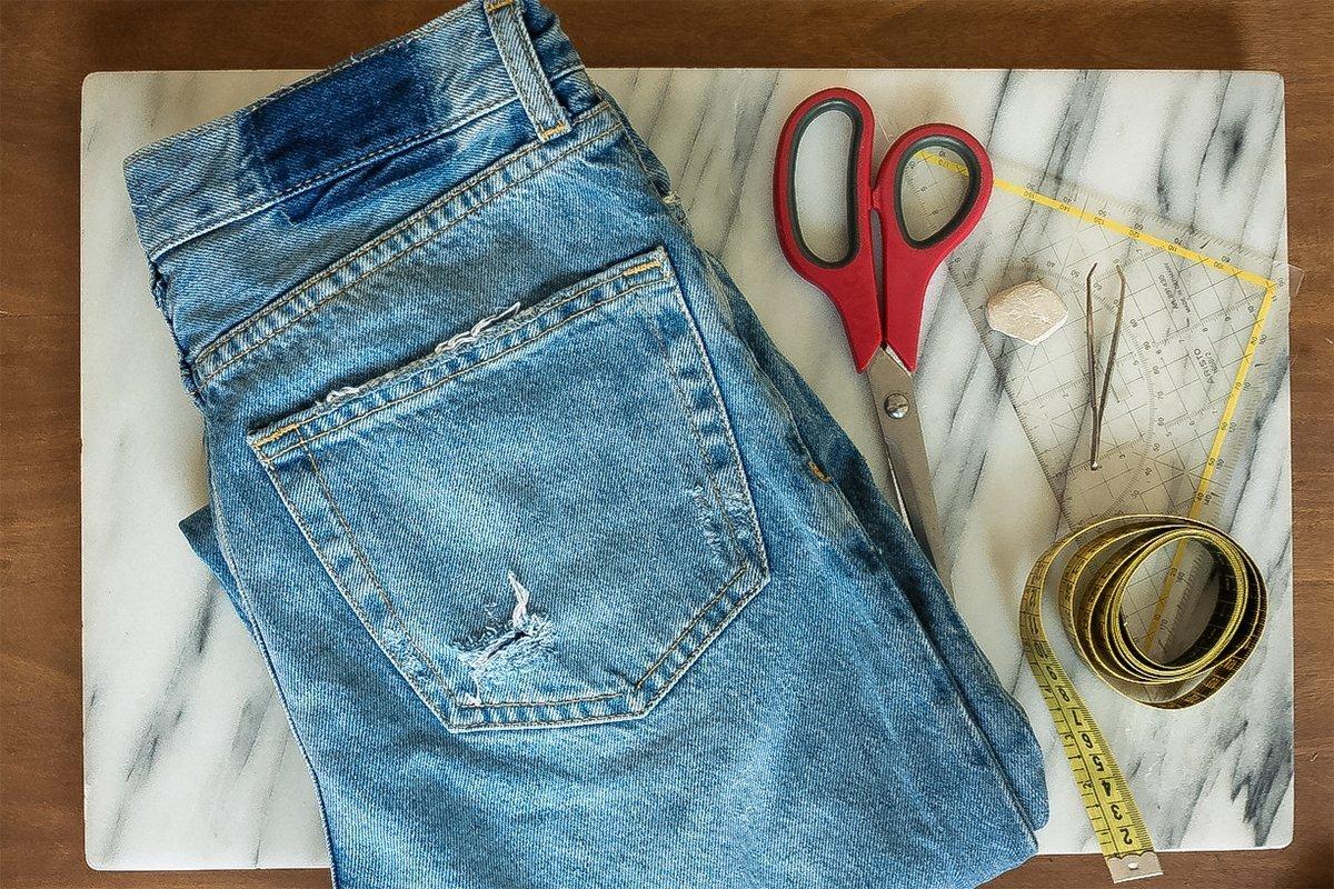 DIY Jeans - Material