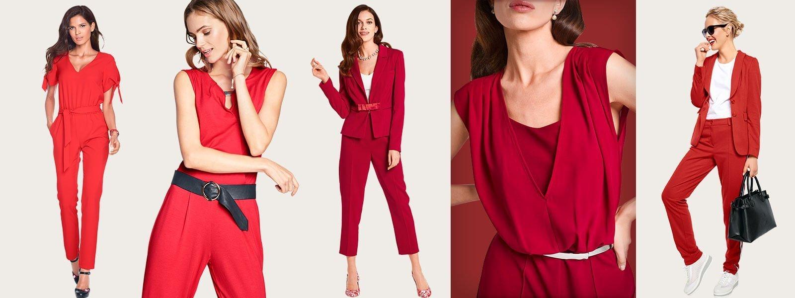 Wir Sehen Rot So Kombiniert Und Stylt Ihr Die Trendfarbe Rot