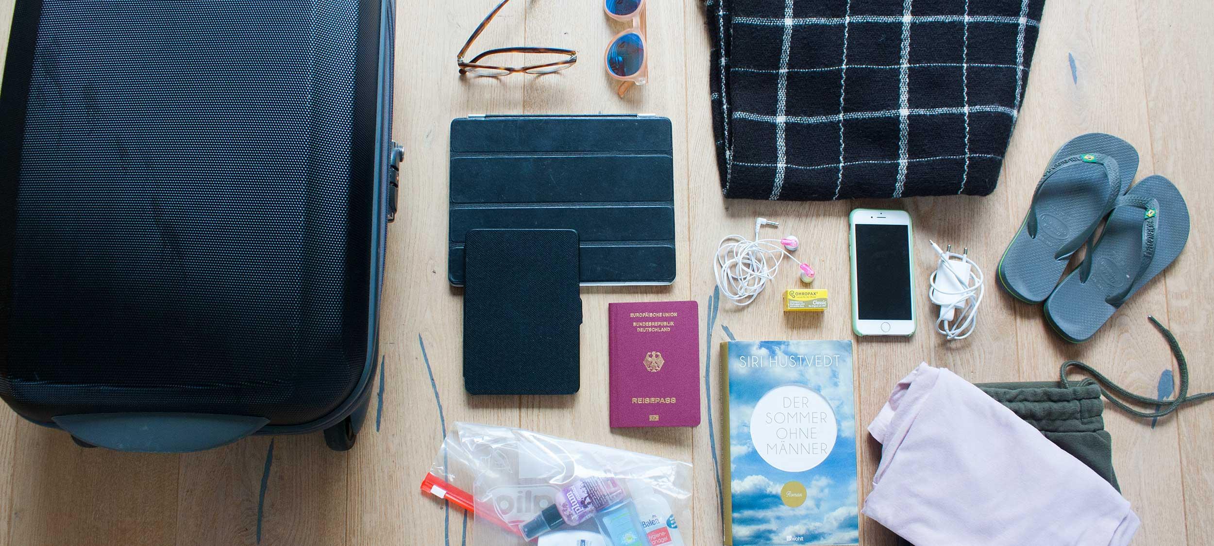 Packliste Handgepäck: Dinge, die nicht fehlen dürfen!