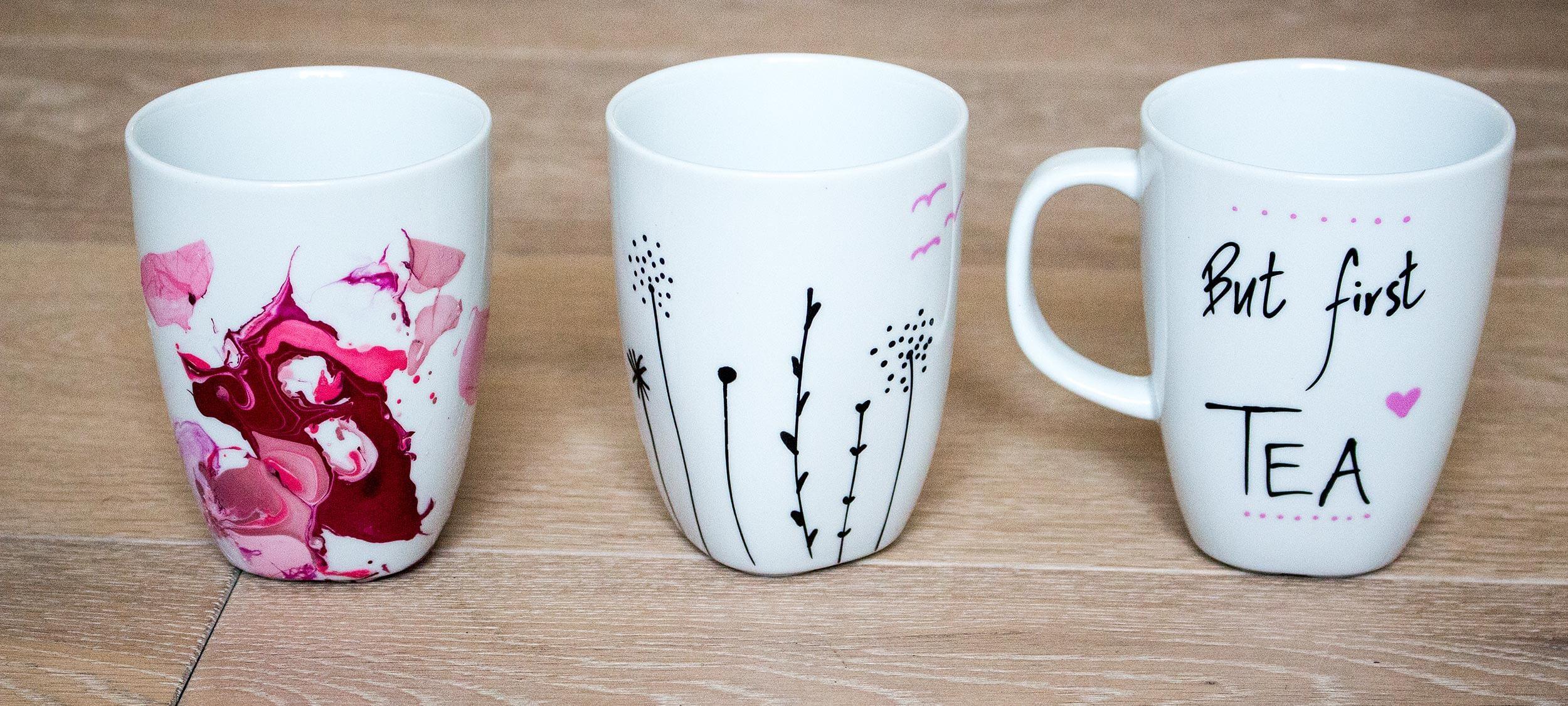DIY- Tassen selbst gestalten