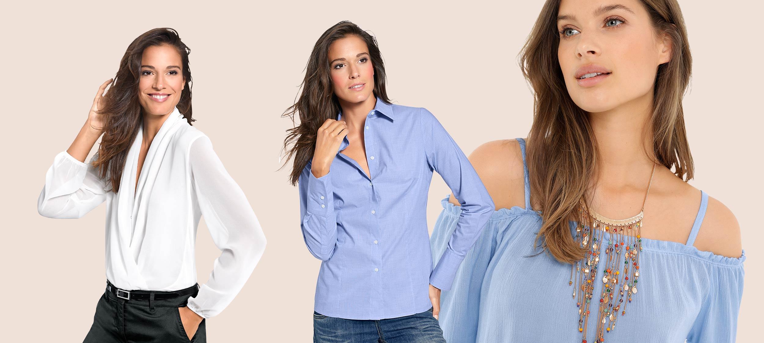 Blusentypen – so vielseitig sind Blusen