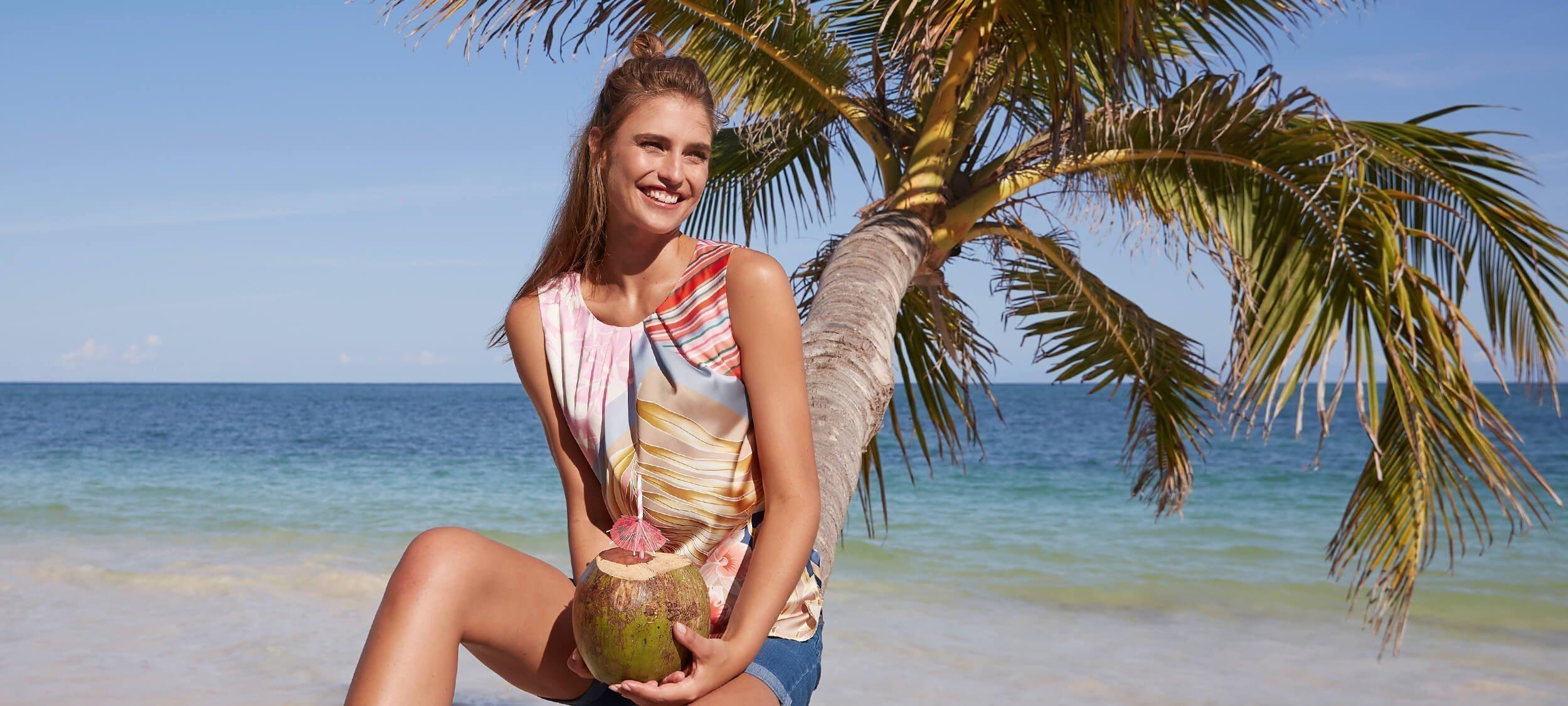 Den Sommer immer dabei: Strandtaschen und Accessoires.