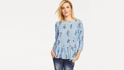 Sommerliches Blusen Outfit