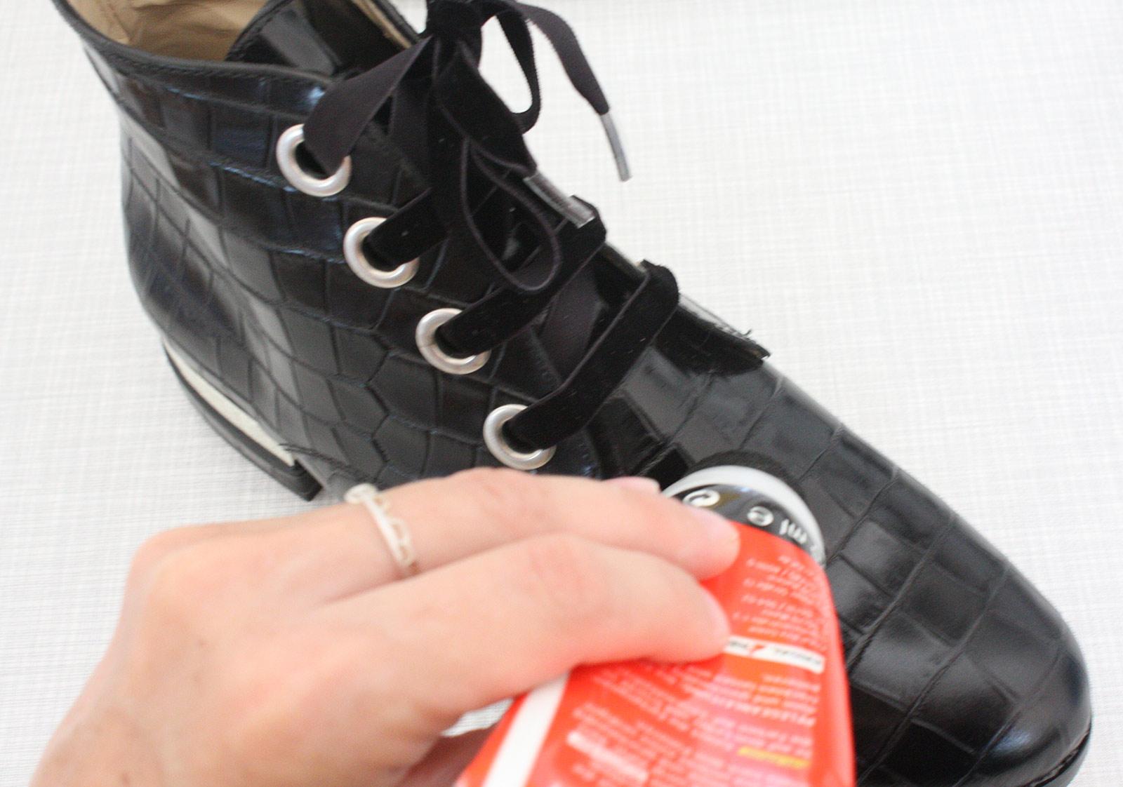 Pflege von Glattlederschuhen
