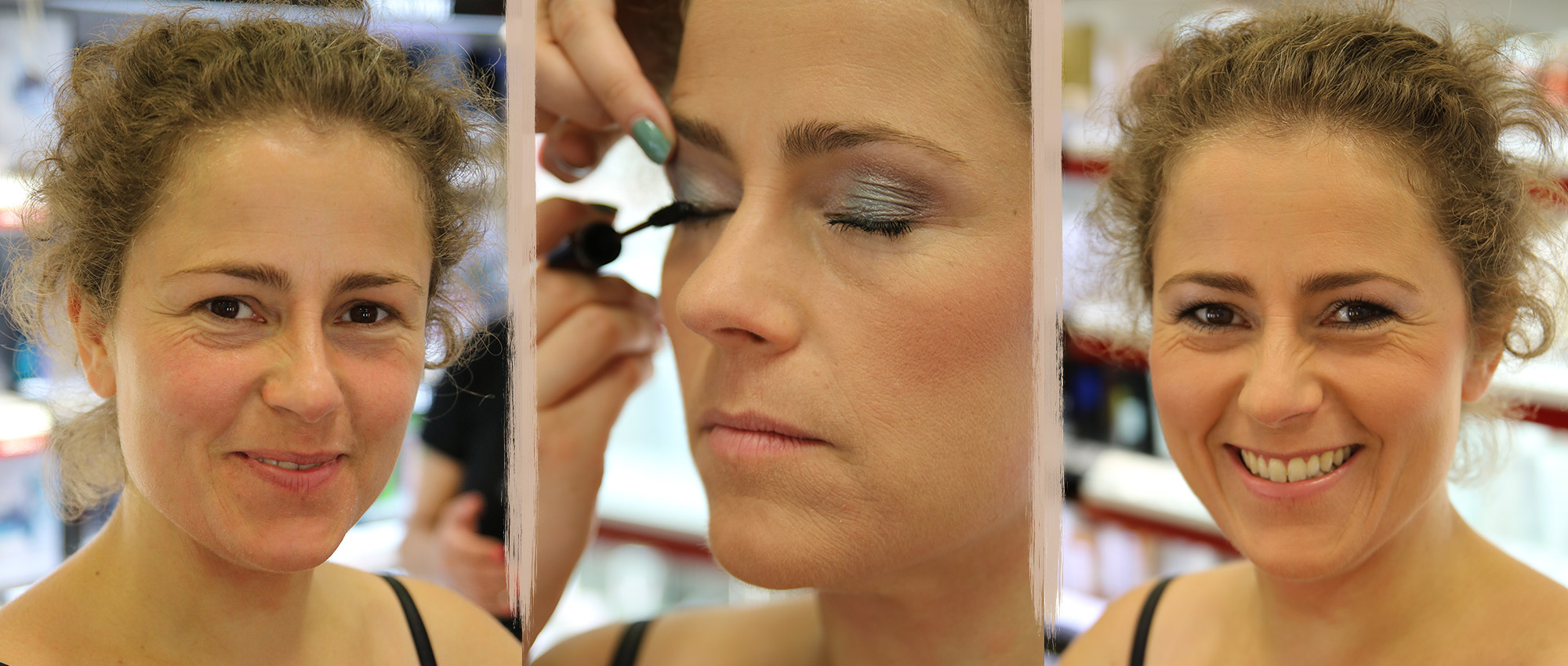 Professionelles Make-up und Haar-Styling