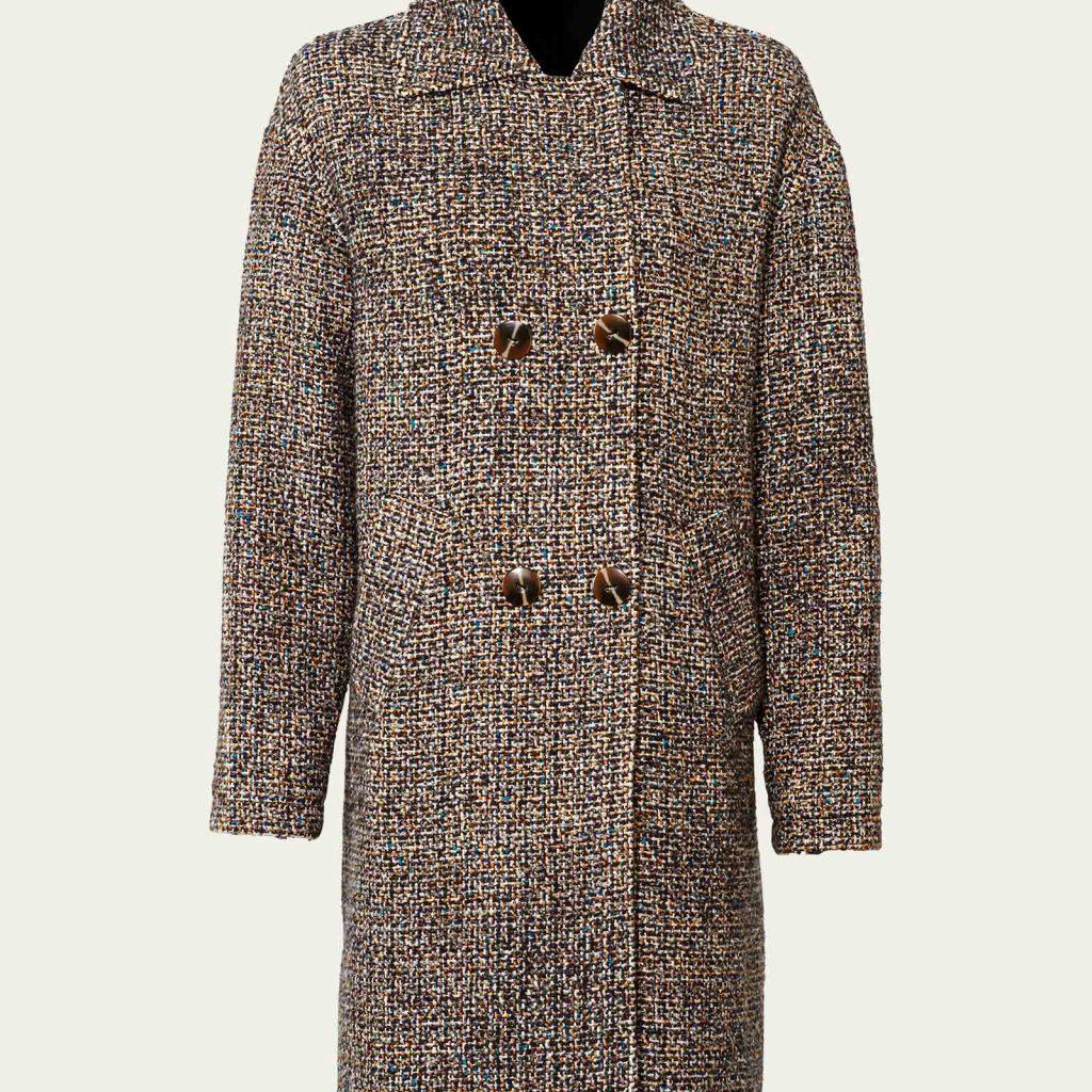 Oversized Mantel kleinkariert
