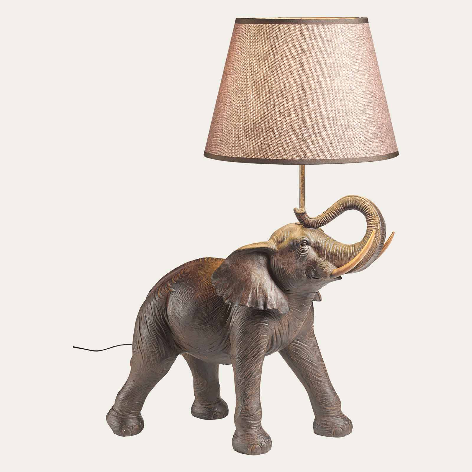 Tischlampe Elefant