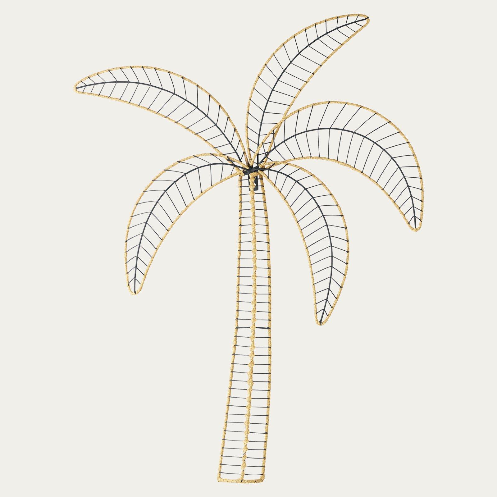 Wanddeko Palme