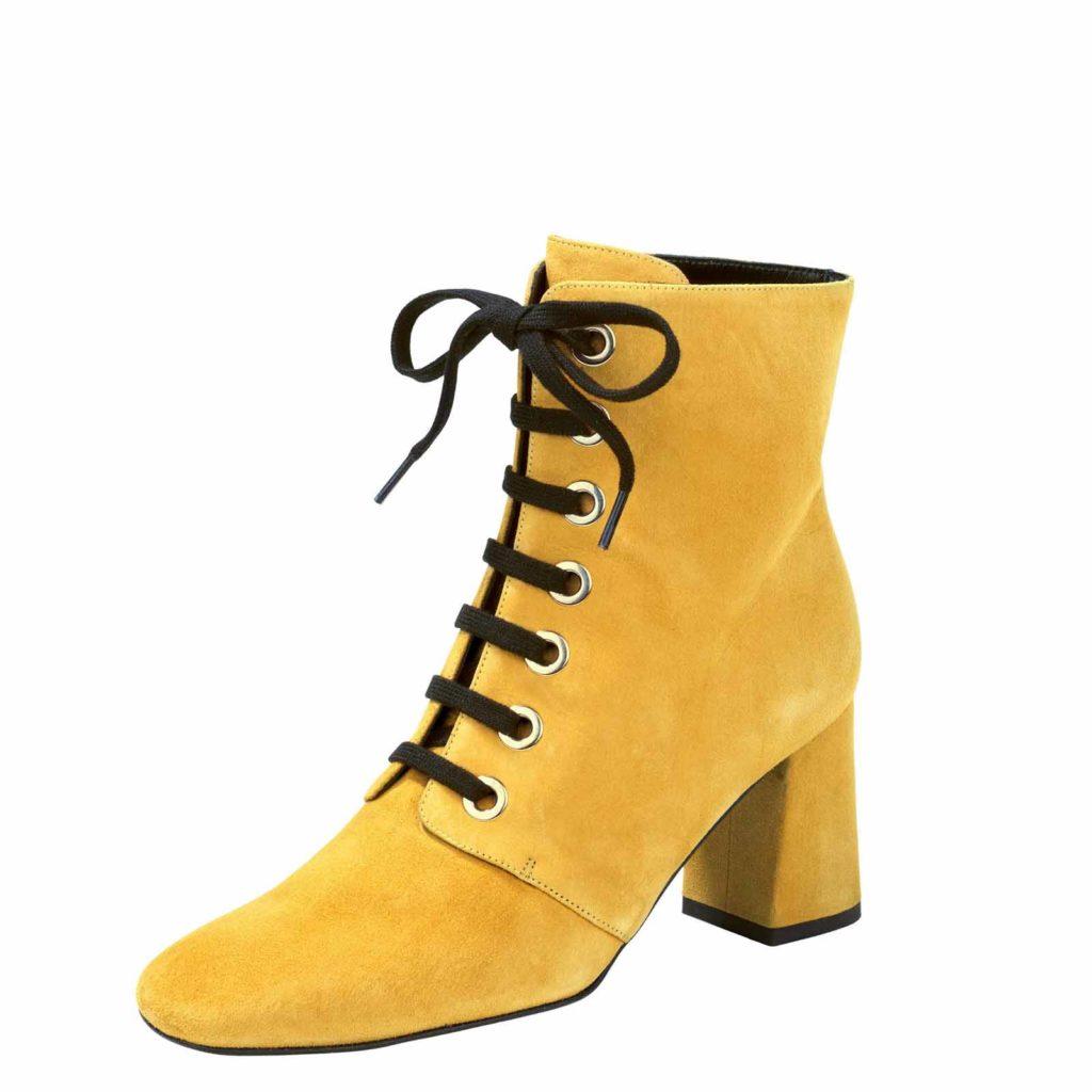 Stiefel in Gelb