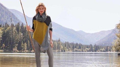 Oversized Pullover Senfgelb