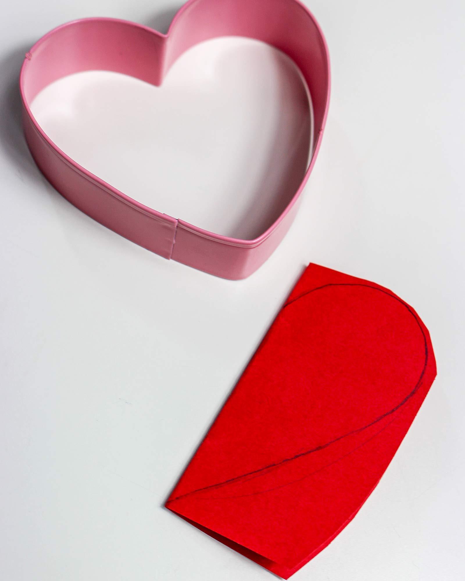 Herzvorlage