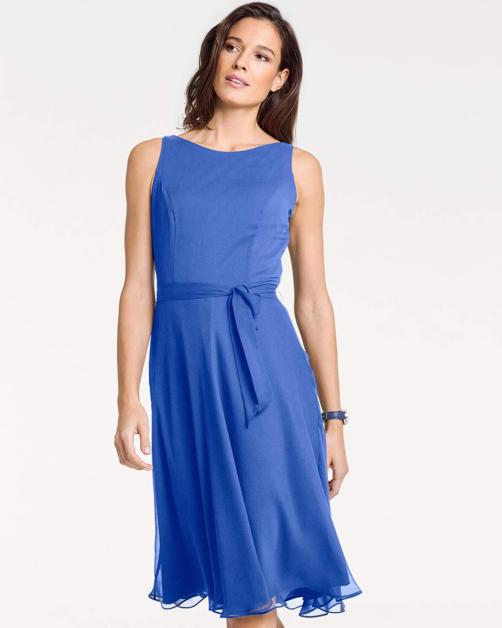 Prinzesskleid in Blau