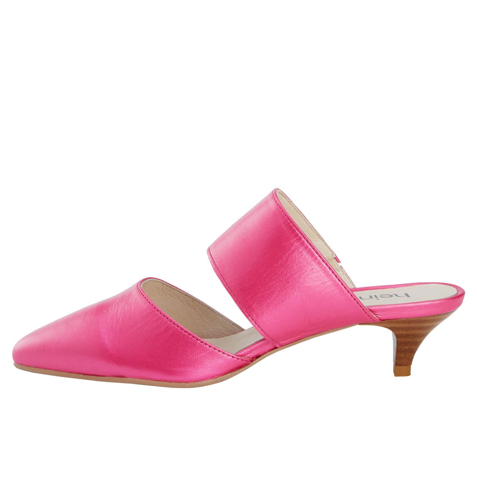 pinkfarbener Sabot